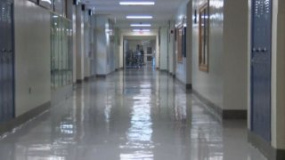 Bedford High School Generic School Hallway