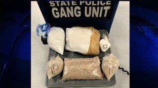 Drugs seized by MSP