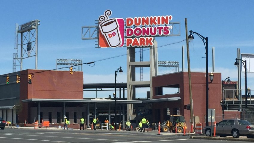 Dunkin Donuts Park accident