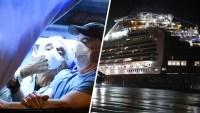 Evacuados de crucero ya están en EEUU: 14 dan positivo al coronavirus