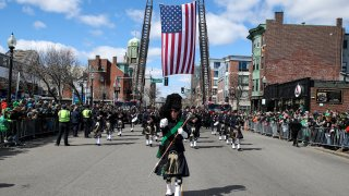 Annual St. Patrick's Day Parade In South Boston