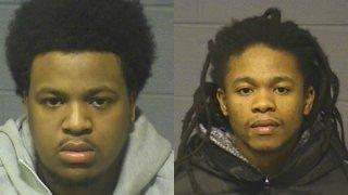 Kareem Andrew and Quinton Price Mugshots