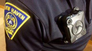 NEW HAVEN BODY CAMERA POLICE