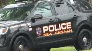 New Canaan police cruiser