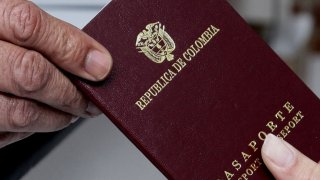 Colombian passport