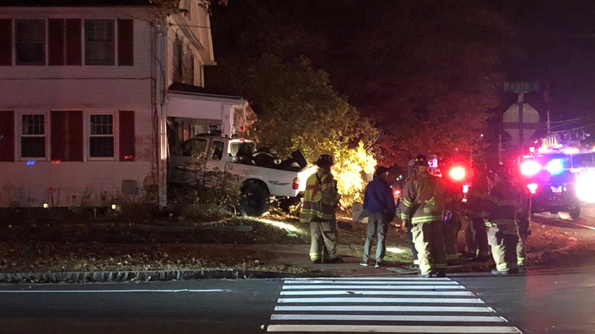 Pickup into house in East Hartford