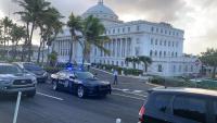 Investigan un tiroteo frente al Capitolio en Puerto Rico