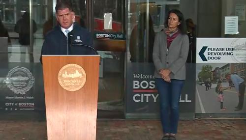 Boston Mayor Marty Walsh