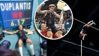 """El """"rey de las alturas"""": Duplantis bate récords mundiales desde que tenía 7 años"""