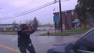 Wethersfield Police Shooting Eulizier Dashcam