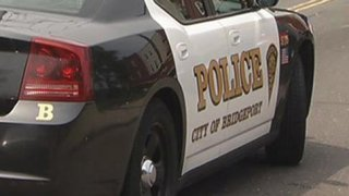 Bridgeport Police cruiser