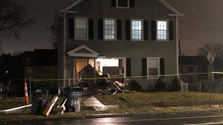 Car drove into home in Hartford