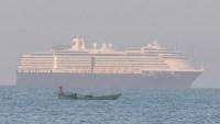 """Sigue la """"maldición"""" del crucero Westerdam: estadounidense da positivo por coronavirus"""