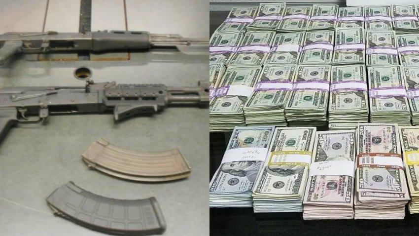 drogas y dinero decomisado arizona