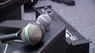Fort Worth music equipment stolen microphone