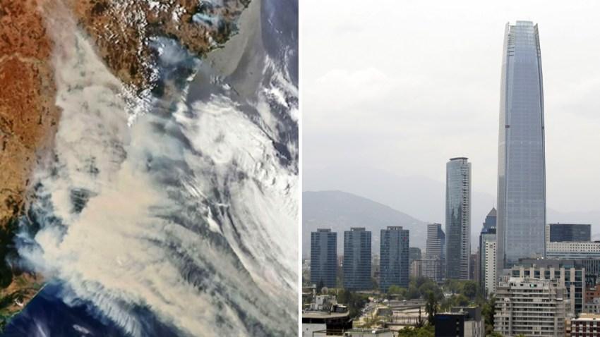 Incendios Australia afectan a Chile