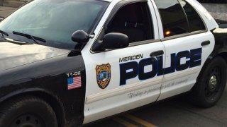 meriden police cruiser