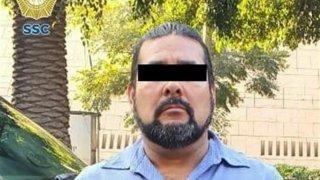 Sicario de grupo criminal detenido en México