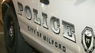 Milford police car