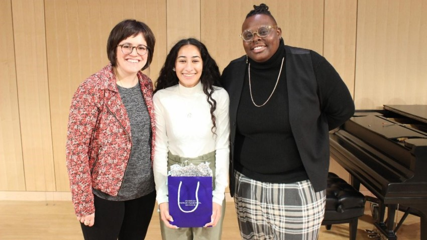Boston Youth Poet Laureate Alondra Bobadilla