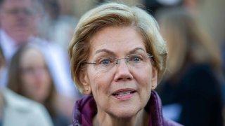 Elizabeth Warren en la foto