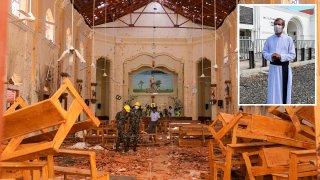 Ocho atacantes suicidas atacaron tres hoteles de lujo y tres iglesias el pasado Domingo de Pascua.