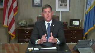 mayor walsh gives address on coronavirus in boston