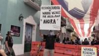 Se repite la historia: manifestantes piden la renuncia de la gobernadora de Puerto Rico