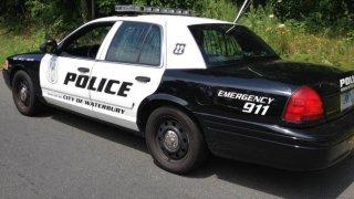 Waterbury police car