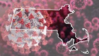 Massachusetts COVID Map