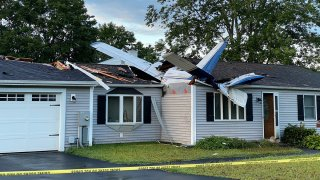 A plane crashed into house in Groton