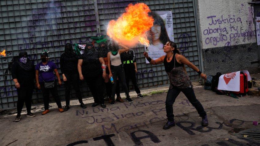 Colectivos feministas en México