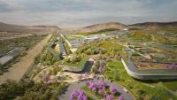 En árido desierto: la ciudad futurista peruana que costará $3,000 millones