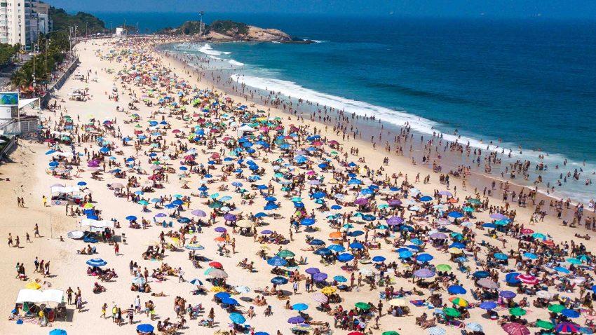 playas en Brasil