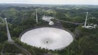 Expertos recomiendan demoler el emblemático radiotelescopio del Observatorio de Arecibo