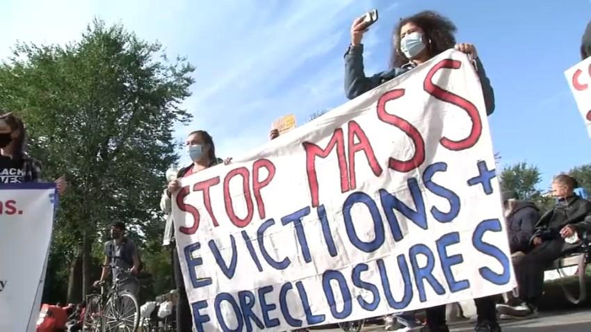 Eviction Rally