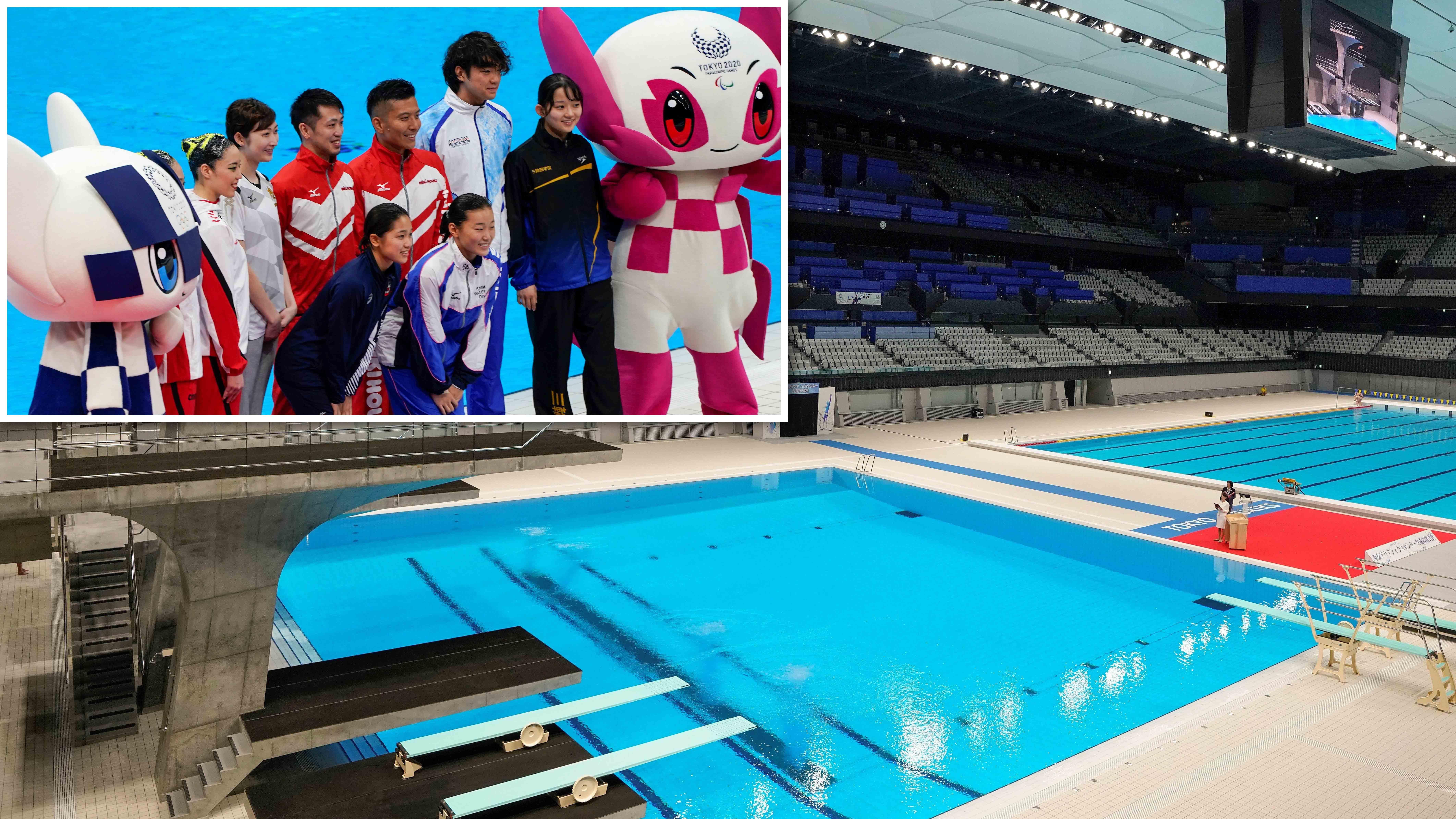 Juegos Olímpicos: inauguran centro donde se realizarán las competencias acuáticas