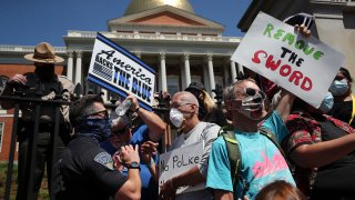 Protests Massachusetts State House