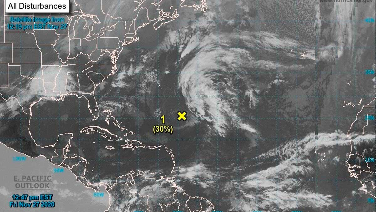 El Atlántico sigue activo y amenaza a solo días para concluir la temporada de huracanes