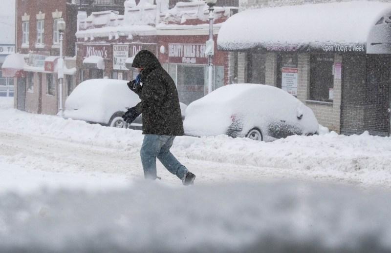 FOTOS: Tormenta deja más de un pie de nieve en la región