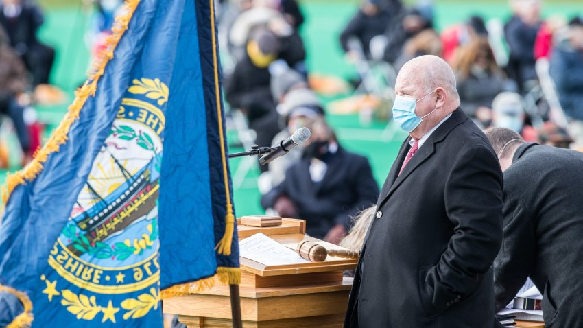 NH State Rep. Dick Hinch at the opening session of the New Hampshire Legislature