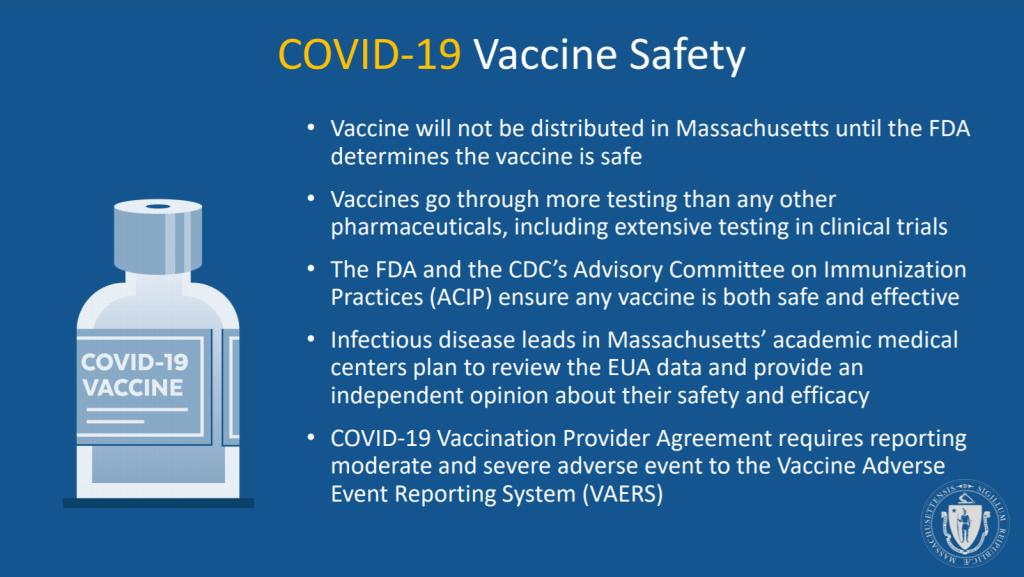 Is Massachusetts' coronavirus vaccine safe?