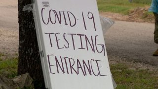 Pruebas de COVID-19 en San Antonio