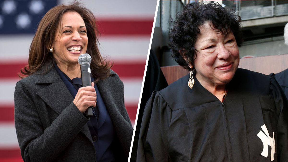 La jueza de origen hispano Sonia Sotomayor juramentará a Kamala Harris como vicepresidenta de EEUU