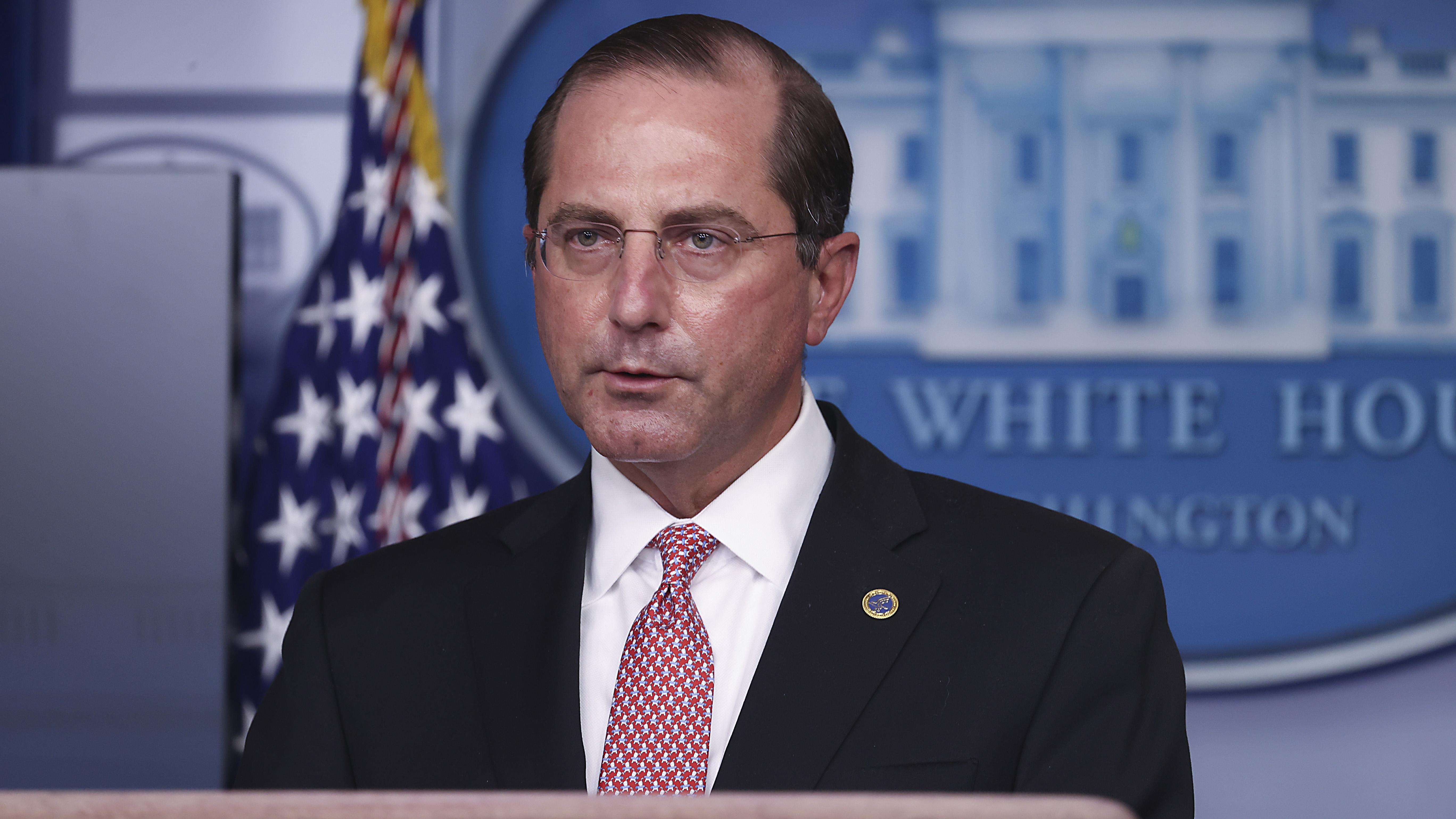 Secretario de Salud condena ataque al Capitolio en carta de renuncia dirigida a Trump