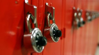 school lockers generic