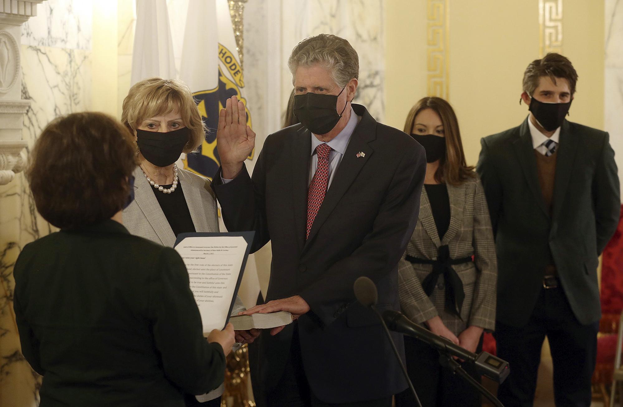 Gob. McKee extiende el estado de emergencia de la pandemia en Rhode Island