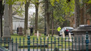 Police investigating allegations of sexual assault at a Manchester, New Hampshire, cemetery.