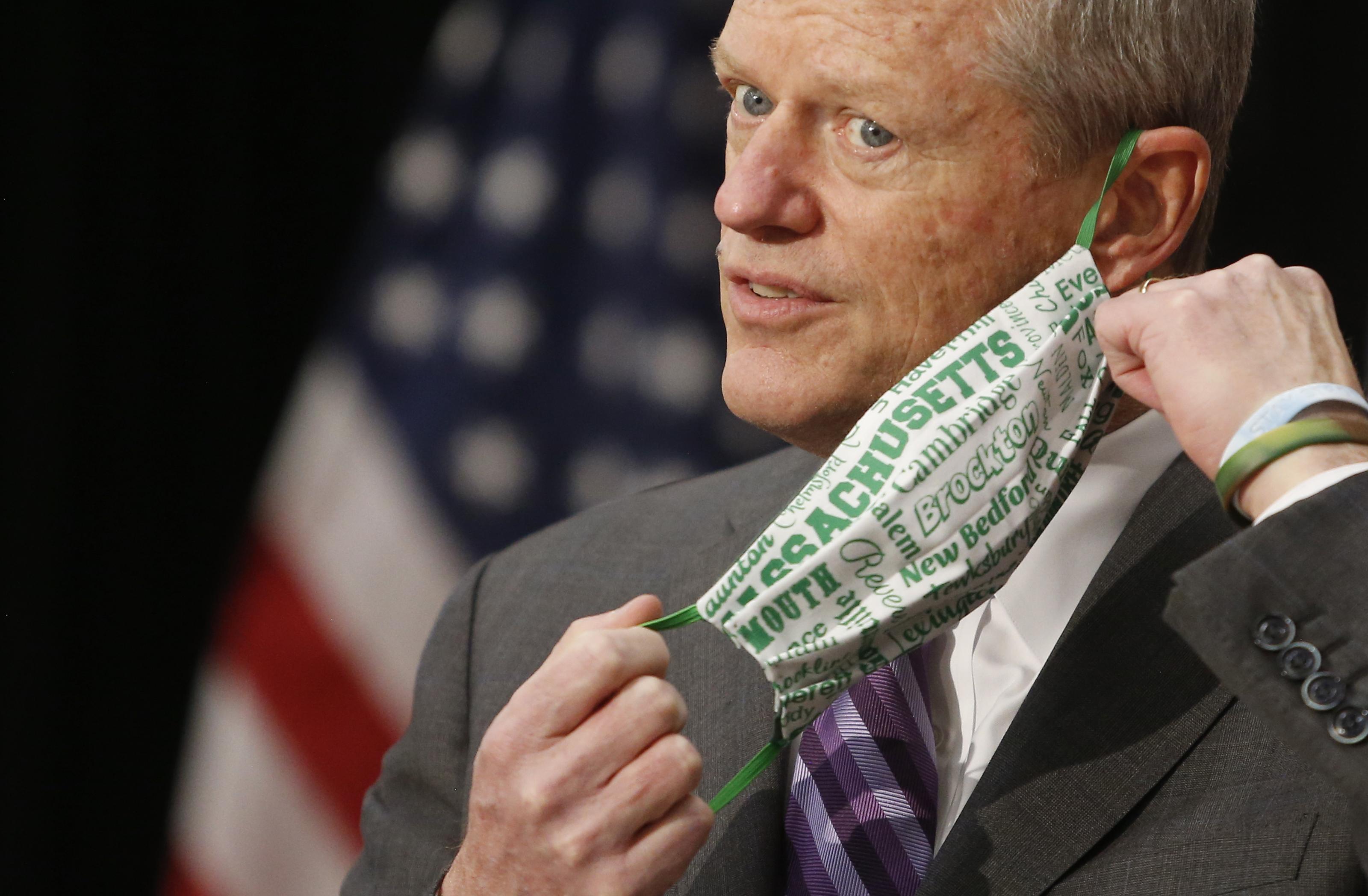 Gobernador dice que Massachusetts actualizará plan de reapertura la próxima semana