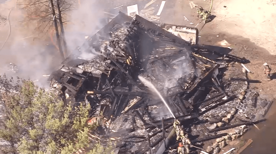 Reportan explosión de una casa en New Hampshire